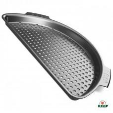 Купить Вставка перфорированная полукруглая для гриля XL, стальная, заказать Вставка перфорированная полукруглая для гриля XL, стальная по низким ценам 1 700 грн. ₴