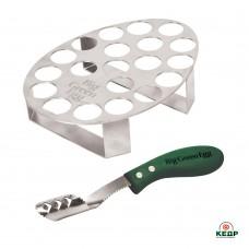 Купити Підставка для 20 фаршированих перчиків з ножем, замовити Підставка для 20 фаршированих перчиків з ножем за низькими цінами 1050 грн. ₴