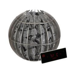 каменка Globe мощностью 10.5 квт с цифровой сенсорной панелью управления
