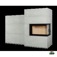 Купить Каминная система Brunner BSG 02 right с дополнительной аккумуляцией сбоку, заказать Каминная система Brunner BSG 02 right с дополнительной аккумуляцией сбоку по низким ценам 11 005€