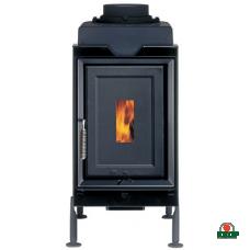 Купить Класическая печь Brunner HKD 6.1 steel frame/cast iron doors/black, заказать Класическая печь Brunner HKD 6.1 steel frame/cast iron doors/black по низким ценам 0€