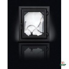 Купить Печные дверцы DELTA Lira 360х420, заказать Печные дверцы DELTA Lira 360х420 по низким ценам 118€