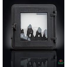 Купить Печные дверцы DELTA Neo 265х265, заказать Печные дверцы DELTA Neo 265х265 по низким ценам 1 653€