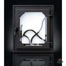 Купить Печные дверцы DELTA Rama 350х400, заказать Печные дверцы DELTA Rama 350х400 по низким ценам 3 828 грн. ₴