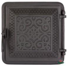 Купить Печные дверцы DELTA Rosetta 255x255, заказать Печные дверцы DELTA Rosetta 255x255 по низким ценам 1 566 грн. ₴