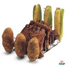 Купити Підставка для запікання картоплі і ребер, замовити Підставка для запікання картоплі і ребер за низькими цінами 450 грн. ₴