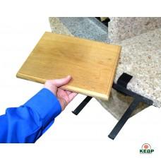 Купить Разделочная доска ELMAS (дуб) в комплекте с креплением, заказать Разделочная доска ELMAS (дуб) в комплекте с креплением по низким ценам 26€
