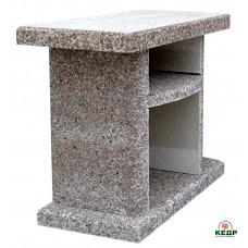 Купить Стол приставной к камину-барбекю ELMAS. Гранит, заказать Стол приставной к камину-барбекю ELMAS. Гранит по низким ценам 168€