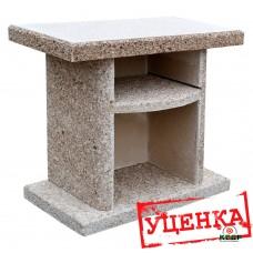 Купить Стол приставной к камину-барбекю ELMAS. Кварцит. [Уценка], заказать Стол приставной к камину-барбекю ELMAS. Кварцит. [Уценка] по низким ценам 101€