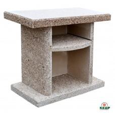 Купить Стол приставной к камину-барбекю ELMAS. Кварцит, заказать Стол приставной к камину-барбекю ELMAS. Кварцит по низким ценам 168€